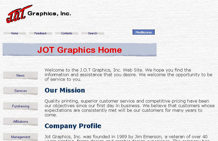 J.O.T Graphics, Inc.