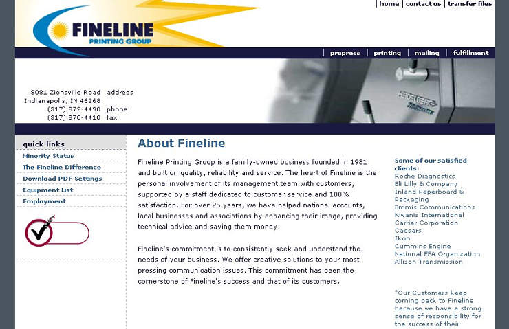 Fineline Printing, Digital & Mailing Groups