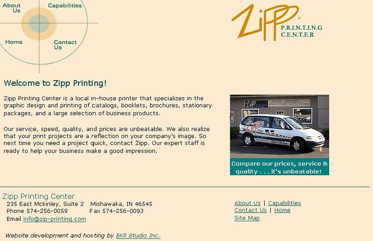 Zipp Printing Center