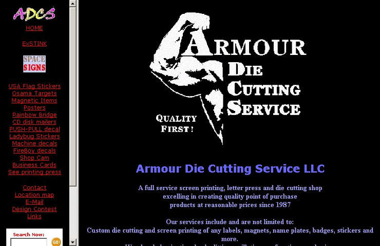 Armour Die Cutting and Screen Printing Service