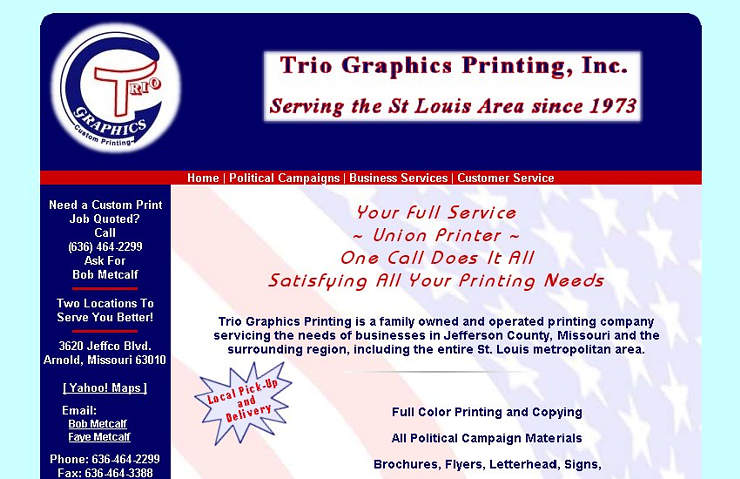 Trio Graphics Printing, Inc.