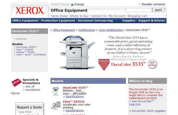 Xerox DocuColor